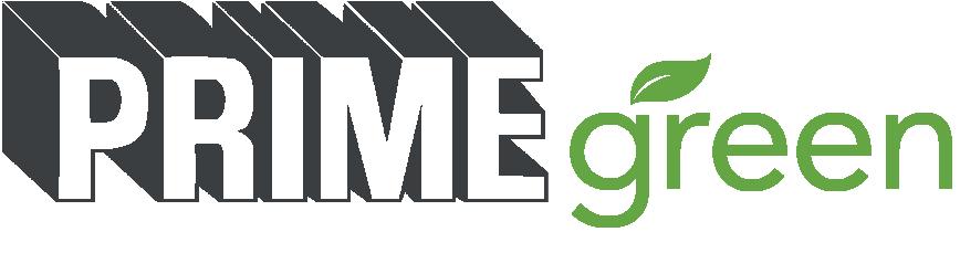 prime green logo with leaf