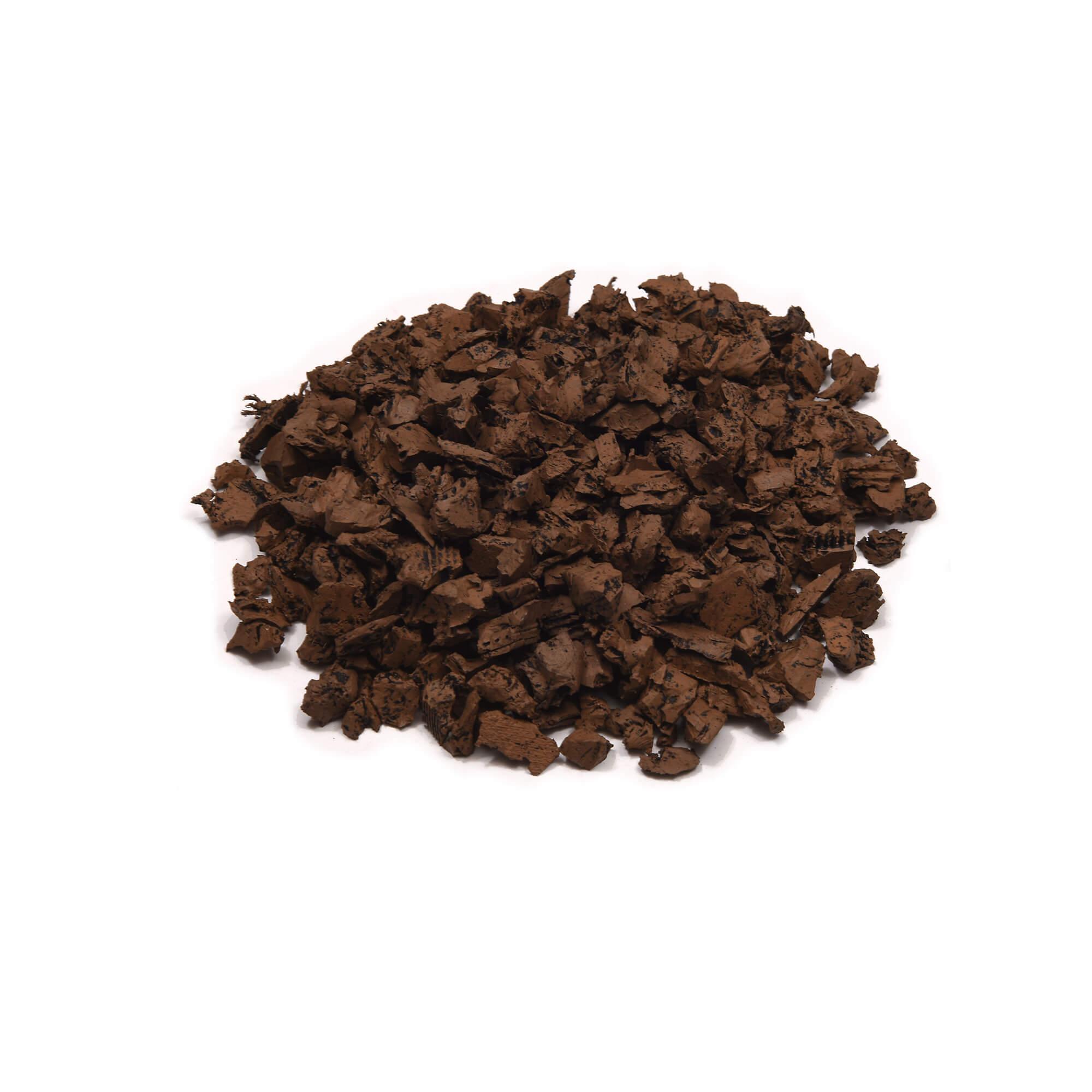 cypress color rubber mulch