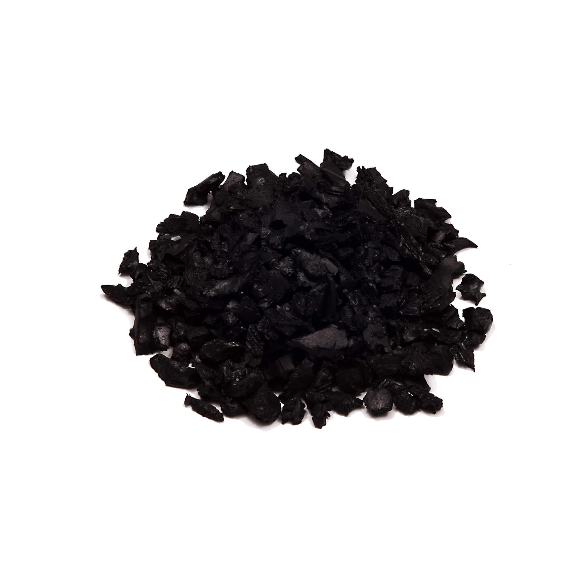 jet black color mulch