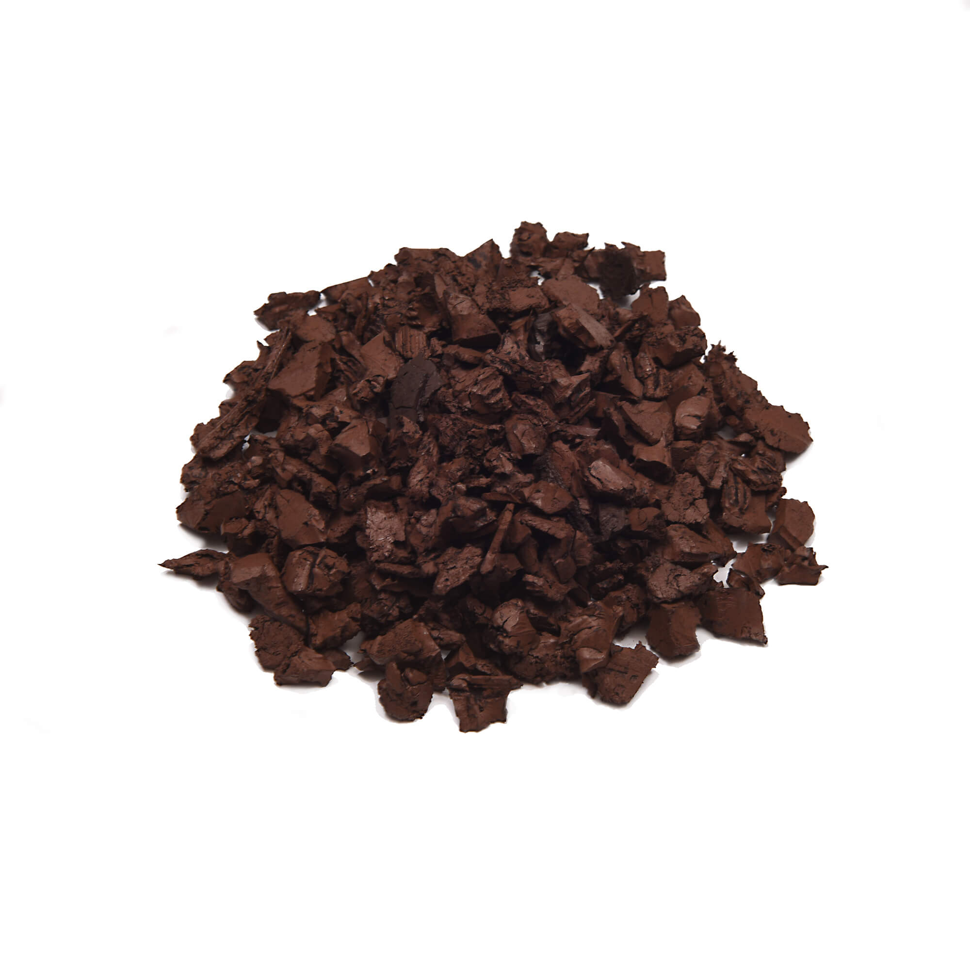 saddle brown color mulch