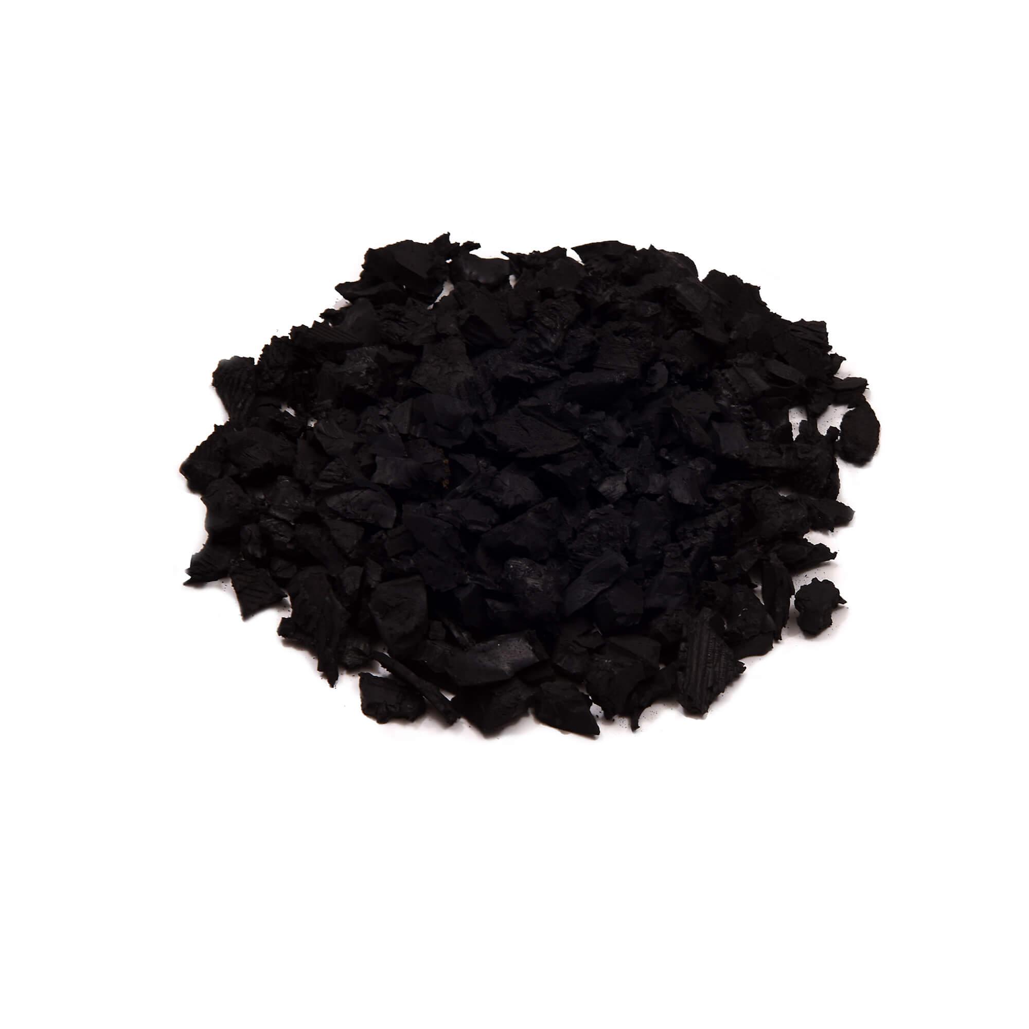 unpainted rubber mulch