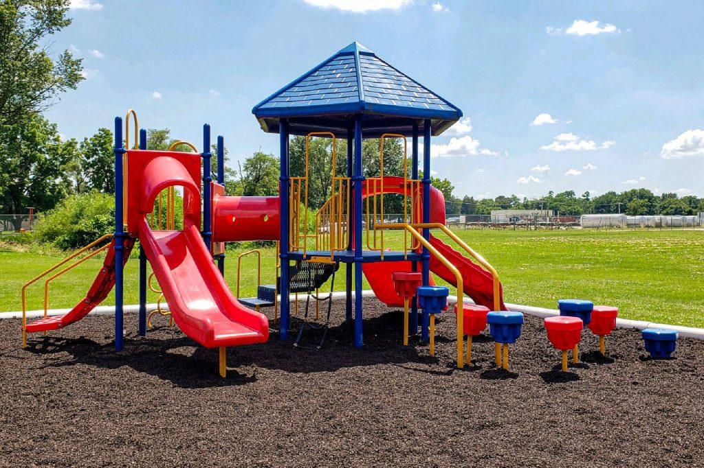 playground with tda mulch